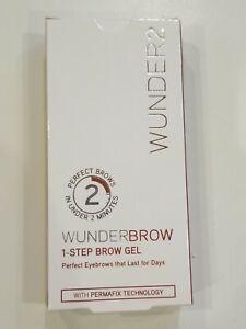 WUNDER2 Wunderbrow Long Lasting 1-Step Brow Eyebrow Gel Brunette perfect eyebrow