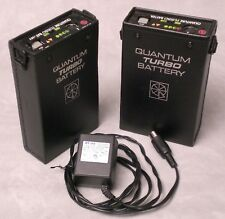 Quantum Turbo - 2 batteries with 1-charger.  Needs new cells - won't charge.