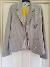 Roxy lightweight jacket / cardigan, heather grey colour, size medium