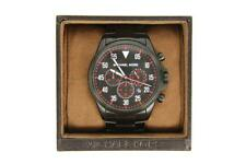 Nice! Men's Michael Kors Chronograph Gage Stainless Steel Bracelet Watch MK8332