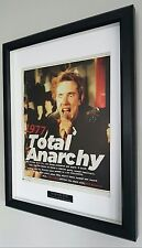 Sex Pistols-Framed Original NME-Plaque-Certificate-NEW-RARE-Punk Johnny Rotten