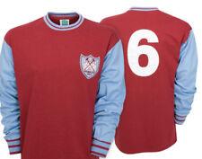 Solo maglia da calcio di squadre inglesi blu lunghezza manica manica lunga