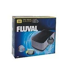Fluval Q1 pompe à air pour 300 litres aquarium super calme durable double outlet