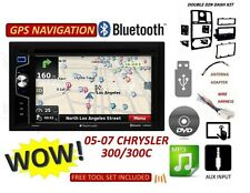 CHRYSLER 300 05 06 07 BLUETOOTH CD DVD USB AUX NAVIGATION BT CAR Radio Stereo
