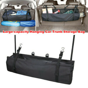 Large-capacity Hanging Car SUV Trunk Storage Bag Folding Bike Organizer Luggage