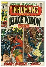 Amazing Adventures #1 Marvel Comics 1970 Inhumans Black Widow Kirby (j#1858)