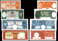 !COPY! 4 AUSTRALIA 1938-40 BANKNOTES: 1£ 5£ 10£ 10 SHILLINGS !NOT REAL!