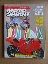 MOTOSPRINT n°45  1989       [Q19]  TEST GUZZI 1000 SP 3