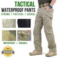 Soldier Tactical Waterproof Pants Men Cargo Pants Combat Hiking Outdoor ORIGINAL