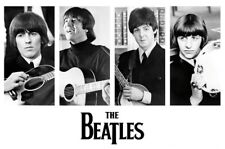 The Beatles Early Portraits Wall Poster 24 inches x 36 inches Poster 000244291