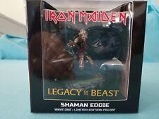 """Iron Maiden    """"Shaman Eddie"""" 4"""" Vinyl Mini Figure -  2017"""
