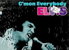 MFD IN CANADA NM BLUE LABEL CAL-2518 ROCK LP ELVIS PRESLEY : C'MON EVERYBODY