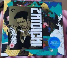 Zatoichi: The Blind Swordsman-The Criterion Collection-25 films- 9 Blu Rays- New
