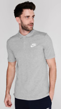 NIKE Sportswear Men's Polo Matchup Grey Medium *REF154