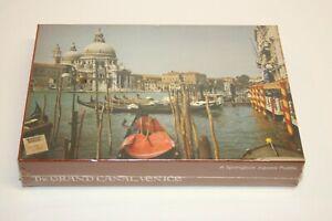VTG Springbok World of Wonder Jigsaw Puzzle - Grand Canal, Venice 350 Pieces NOS