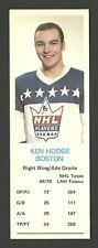 Ken Hodge Boston Bruins 1970-71 Dad's Cookies Hockey Card EX/MT