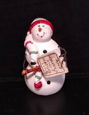 Vtg 90s Sandi Gore Evans Jolly Follies Snowman Midwest Of Cannon Falls Christmas