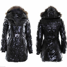 Unbranded Women's Hip Length Outdoor Popper Coats & Jackets