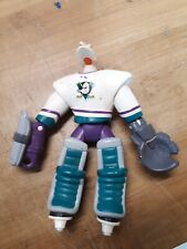 Vintage Disney Mighty Ducks Action Figure Wildwing Goalie Loose Used