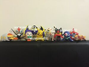 McDonalds Pokemon Happy Meal Sun Moon 2017 Full Set Of 10 ONLY Toys Used Opened