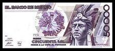 El Banco de Mexico 50,000 Pesos 20.12.1990, Series HN. P-93b, Crisp UNC