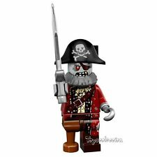 LEGO MINIFIGURES SERIE 14 MONSTERS - ZOMBIE PIRATE 71010 - ORIGINAL MINIFIGURE