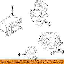 Pontiac GM OEM 99-03 Grand Prix-Stereo Speaker Audio Left 10296563