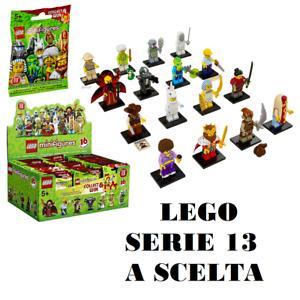 LEGO 71008 - LEGO MINIFIGURES - SERIE 13 COMPLETA - scegli il tuo personaggio