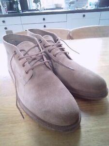 Clarks Men's Suede Desert Ankle Boots 8 1/2 G, 8.5 G