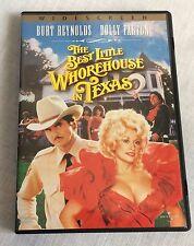 The Best Little Whorehouse in Texas DVD 2003 Burt Reynolds Dolly Parton
