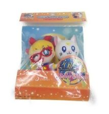 NEW Sailor V & Artemis Mascot Plush Doll Keychain Set of 2 Official Japan