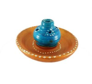 Decorative Clay Incense Stick Holder Traditional Religious Accessories S2-10