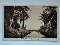 ERITREA MASSAUA Taulud COLONIE coloniali AOI vecchia cartolina viaggiata