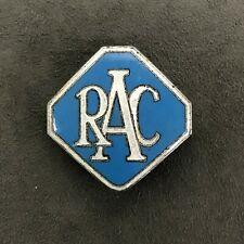 ROYAL AUTOMOBILE CLUB RAC CAR ENAMEL CAP BADGE