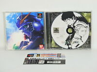 PS1 Mobile Suit GUNDAM CHAR'S COUNTERATTACK with SPINE * Playstation Japan p1