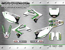 Kawasaki KX 450f  2009 up to 2011 graphics decals kit Moto StyleMX