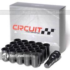 Circuit Performance Black Tuner Steel Lug Nut 12x1.5 Fits Toyota Lexus IS300