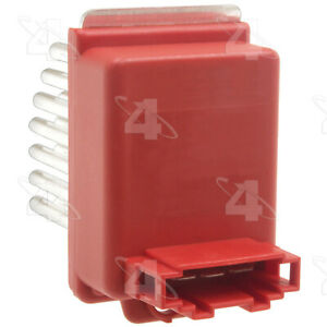HVAC Blower Motor Resistor-Resistor Block Front 4 Seasons 20382