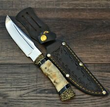 Hunting knife Survival Tactical fixed blade leather sheath  # 22 Scream