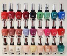 10er Set Sally Hansen Complete Salon Manicure Nagellack ver. Farben