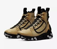 Nike React Mens Size 8 Gold Black Trainers Boots 10th Edition New BNWB Ianga