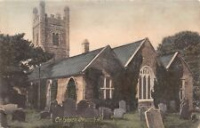 Buckland Beacon Dartmoor Uk Granite Tor-Conical Beacon~Chapman Publ Postcard