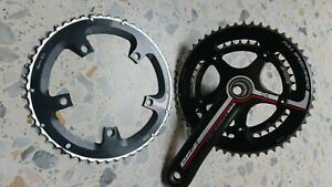 fsa k force light crankset, ceramic bearings, 10/11 speed, excellent condition