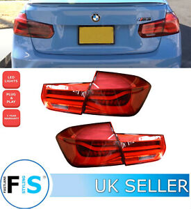 BMW 3 SERIES F30 F35 LED REAR LIGHTS M PERFORMANCE SEQUENTIAL TAIL LAMPS