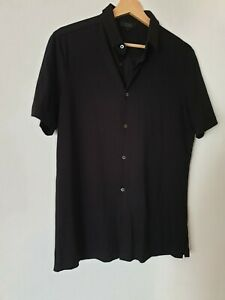 COS Mens Black Shirt Size S