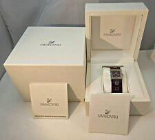 Swarovski Crystal Elis Amethyst Purple Women's Watch with Original Box