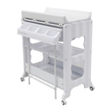 Childcare Montana 100cm Baby/Infant Changing/Bathing Table Change Centre White