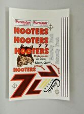 Out Of Bag Nascar #7 Alan Kulwicki Hooters Thunderbird  Decals