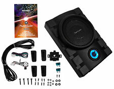 """Planet Audio P8.2UAW 8"""" 1300W Active UnderSeat Subwoofer+2-Ch. Amp Output+Remote"""