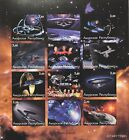 STAR TREK DEEP SPACE NINE IMPERF STAMPS 2001 NEXT GENERATION FAUX ISSUE SCI-FI